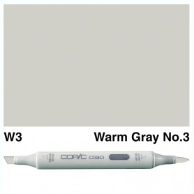W-3 Copic Ciao Warm Gray No.3