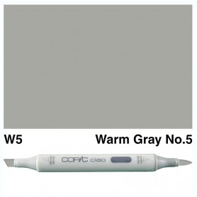 W-5 Copic Ciao Warm Gray No.5