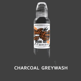 World Famous Ink 30ml - Charcoal Greywash - Exp02/21