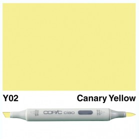 Y02 Copic Ciao Canary Yellow