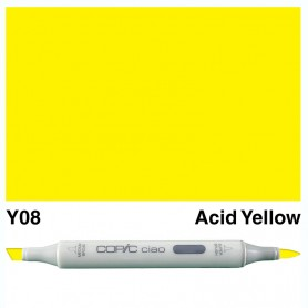 Y08 Copic Ciao Acid Yellow