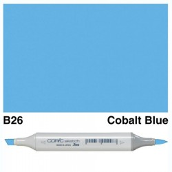 B26 Copic Sketch Cobalt Blue