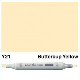 Y21 Copic Ciao Buttercup Yellow