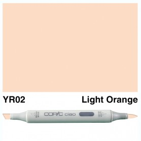 YR02 Copic Ciao Ligth Orange