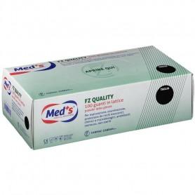 Med+S® FZ Quality 100 Guanti in Lattice Bianco Naturale - M