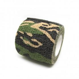Benda Coadesiva Per Bendaggio Grip - Camouflage Militare Scuro
