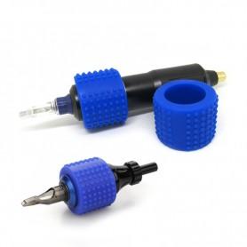 Copri Grip in silicone Autoclavabile Blue 37mm