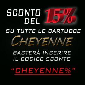 SCONTO CARTUCCE CHEYENNE