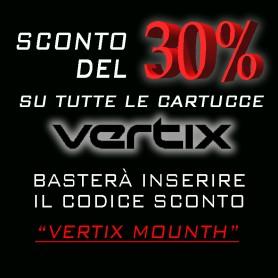 SCONTO CARTUCCE VERTIX