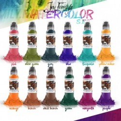 Jay Freestyle Watercolor Ink Set 12pz x 30ml - World Famous Ink