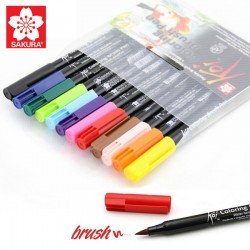 Koi Color Brush set 12 pz SAKURA