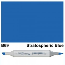 B69 Copic Sketch Stratospheric Blue