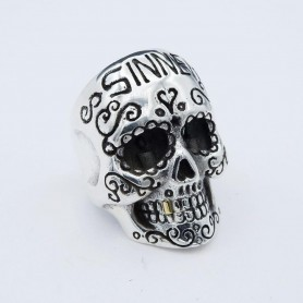 Silverbone Anello Sinner - Size 22