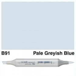 B91 Copic Sketch Pale Grayish