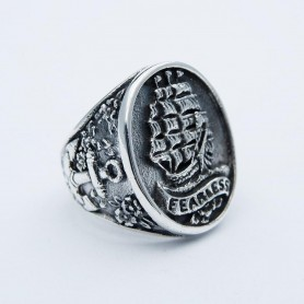 Silverbone Anello Fearless