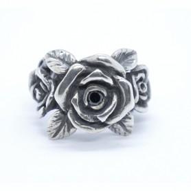 Silverbone Anello Rose - Size 15