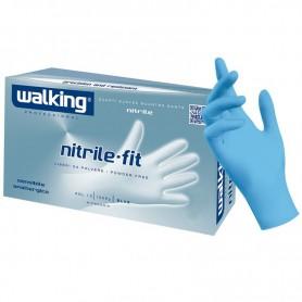 Walking Nitrile Blue - 100pz - L