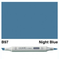 B97 Copic Ciao Night Blue