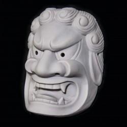 Maschera in Resina Fudo Myo-o (non verniciato)