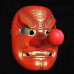 Maschera in Resina Tengu Dipinta a mano Red