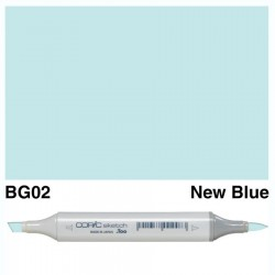 BG02 Copic Sketch New Blue