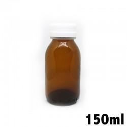 Recipiente in vetro ambrato 150ml