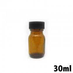 Recipiente in vetro ambrato 30ml