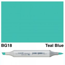 BG18 Copic Sketch Teal Blue