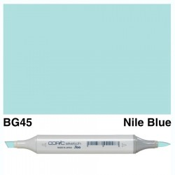 BG45 Copic Sketch Nile blue