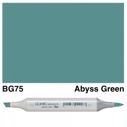 BG75 Copic Sketch Abyss Green