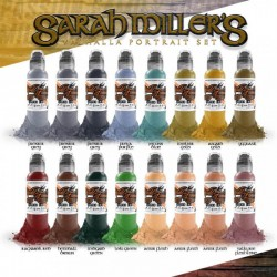 Sarah Miller Valhalla Portrait Set 16pz x 30ml - World Famous Ink