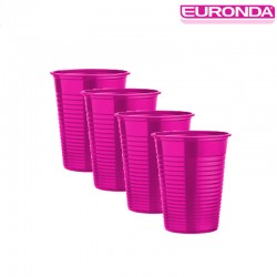 Bicchieri Euronda 100pz - Fucsia