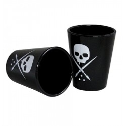 Sullen Badge Shot Glass Set 2pz