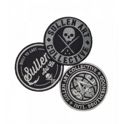 Sullen Logo Velcro Patch Pack 3pcs