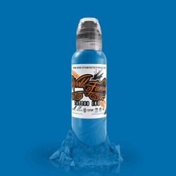 World Famous Ink 30ml - Bangkok Blue