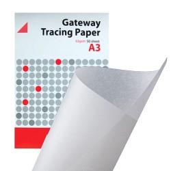 Carta da Lucido TRACING PAPER,A3, 63gsm 50pz