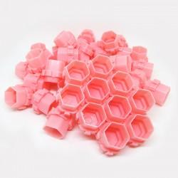 Ink Cup Esagonali Modulari 200 pcs Pink