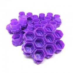 Ink Cup Esagonali Modulari 200 pcs Purple
