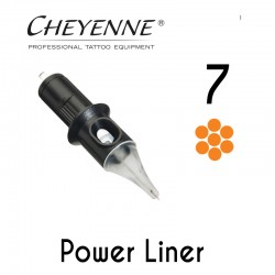 Cartridge Cheyenne Power Liner 07 - Long Taper 0,40mm 10pcs