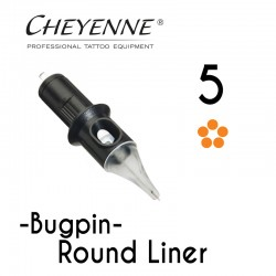 Cartridge Cheyenne Round Liner 05 - BugPin Long Taper 0,30mm 10pcs