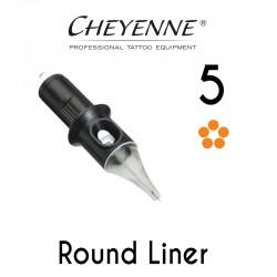 Cartridge Cheyenne Round Liner 05 - Medium Taper 0,30mm 10pcs