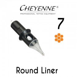 Cartridge Cheyenne Round Liner 07 - Micro Long Taper 0,25mm 10pcs