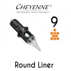 Cartridge Cheyenne Round Liner 09 - Medium Taper 0,30mm 10pcs