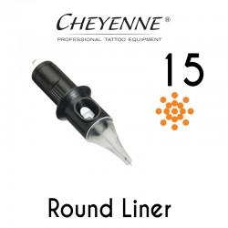 Cartridge Cheyenne Round Liner 15 - 0,30mm 10pcs