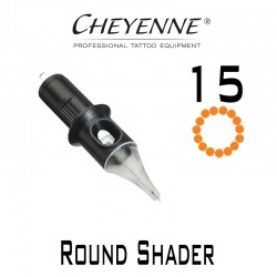 Cartridge Cheyenne Round Shader 15 - 0,30mm Long Taper 10pcs