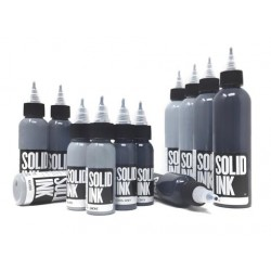 Opaque Grey Set Set 4 colors  - Solid Ink 4oz (120ml)