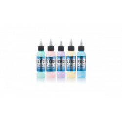 Fusion Ink Set Completo Pastel Colour 5x30ml (1oz)