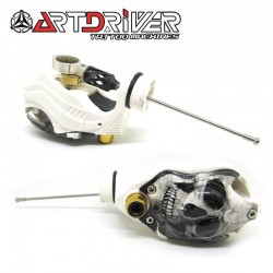 ART DRIVER S-Power - White Skull