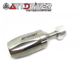 ART DRIVER - Grip in acciaio Regolabile
