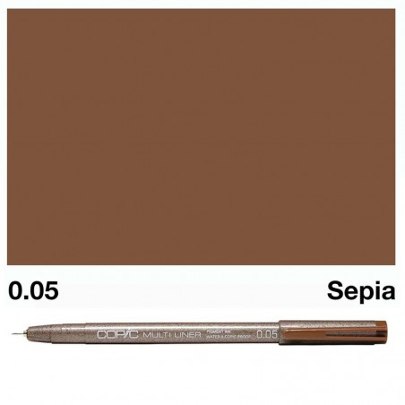 Copic Multiliner Sepia 0.05